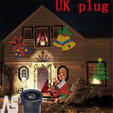Outdoor Christmas Landscape Decoration Moving Laser Projector LED Light Lamp UK