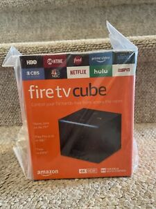 Amazon Fire TV Cube 16GB 2nd Gen Streaming Media Player with Voice Remote Black