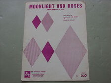 Moonlight And Roses,  Sheet Music