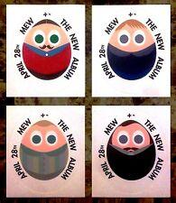 Mew + - Ltd Ed New Rare Stickers Lot +Free Indie Rock Dance Alt Pop Stickers!