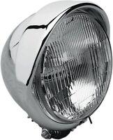 Drag Specialties 5 3/4in Headlight with Built-In Visor DS-280095