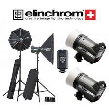 Kit 2 Elinchrom BRX 500/500 Softbox To Go con transmisor El-Skyport Plus
