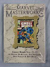 MARVEL MASTERWORKS #313 Ghost Rider Vol #3 DM Variant HC (2021) Global Shipping