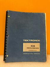 Tektronix 070 1915 00 434 Oscilloscope Instruction Manual