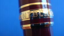 stylo bille MONTBLANC Bordeaux / or Classique 164 Meisterstück GERMANY   S/N