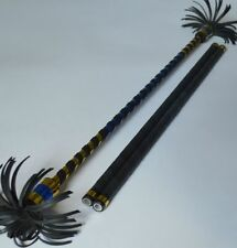 Alu Flower Stick gold/blue Devil Sticks Stix Juggling Educational Toy