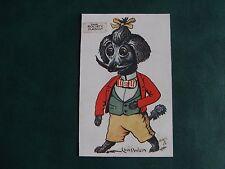 ORIGINAL LOUIS WAIN SIGNED TUCK DOG POSTCARD - THE SOCIETY MASCOT - 4097.