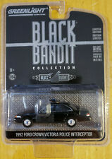 Greenlight Collectibles Black Bandit 1992 Ford Crown Victoria Police Interceptor