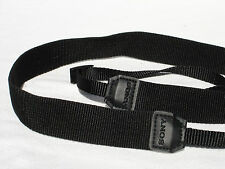 """SONY camera strap  1"""" Wide  All Black   Genuine  #00030"""