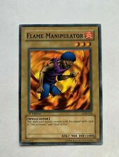 YuGiOh Card Flame Manipulator - LOB-016 - Common - 1st Edition
