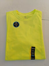 Athletic Works Performance Blend Tee Large 42-44 Moisture Wicking Nwt Yellow