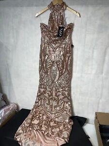 Ladies Nazz Collection Sequin Dress. New Tagged Size 10