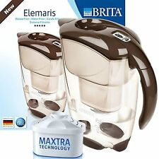 BRITA Elemaris Meter Cool 2.4L Water Filter Jug with Maxtra Cartridge - Brown