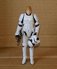 Star Wars Legacy Col BD-30 Luke Skywalker (Stormtrooper Disguise) loose complete