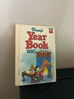 Vintage Disney's Year Book 1990 Yearbook Walt Disney Wonderful World of Reading