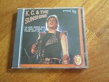 KC & THE SUNSHINE BAND Greatest Hits CD ITALY DISCO FUNK EARTH WIND & FIRE NO LP