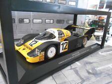 PORSCHE 956 K Gr.C Bad Aachen Monza 1984 Schornstein Merl #12 Minichamps 1:18