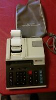 Vintage Sharp CS-2152 COMPET Electronic Printing Calculator ** Tested **