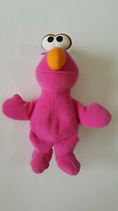 """Sesame Street  1997 Beans Plush Figure  8"""" Elmo  New   TYCO"""
