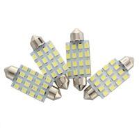4X Blanc 42mm 16 3528 SMD LED 12V Plaque d'immatriculation feston lumiere am M1U
