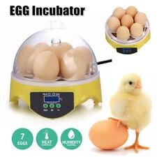 7Egg Digital Mini Clear Incubator Bird Chicken Duck Househould Automatic Hatcher