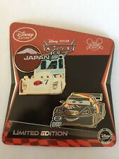 Max Schnell & Shu Todoroki Limited Edition LE 350 Disney Pins Cars 2 2011 Set