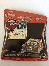 Max Schnell & Shu Todoroki Limited Edition LE 350 Disney Pins Cars 2 2011 Set