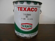 VINTAGE FIVE GALLON TEXACO OIL CAN