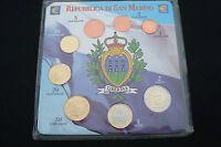DIVISIONALE COMPLETA EURO SAN MARINO 8 MONETE FDC COLLEZIONE SAINT MARIN 2012 8p