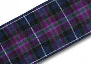 Pride of Scotland Modern tartan ribbon lengths from 1-25 metres & ODDMENTS