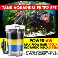 0.4 0.6 0.8m Aquarium Fish Tank External Canister Filter Pre-Filter Valve