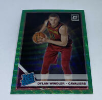2019-20 Optic DYLAN WINDLER Fanatics Green Prizm Wave SP RC RATED ROOKIE Limited