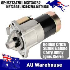 Starter Motor for Suzuki Vitara G13B 1.3L G16A 1.6L Jimny SN413 M13A M3T34781 at