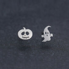 1Pair Fashion Women Earring Pumpkin Halloween Ghost Ear Stud Earrings Jewelry