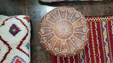 MOROCCAN Authentic POUF Leather Pouf Ottoman Pouffe footst