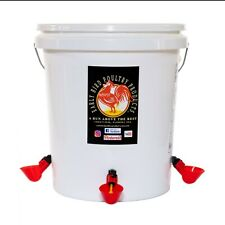 Automatic 5 Gallon Poultry Waterer With Float Valve