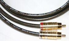 2 x 5,00 m Sommercable Spirit XXL Cinchkabel,Viablue Stecker TS Phono,HIFI,