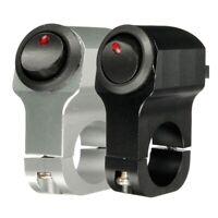 1X(12V 10A Motorcycle Handlebar Headlight Fog Spot Light Waterproof On Off S GN8