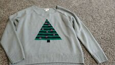 Route 66 Size XL Christmas Sweater not so Ugly Holiday Party Christmas Tree