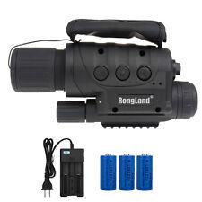 Night Vision Telescope Monoculars Hunting Scope Camera 320m Range+CR123A Battery