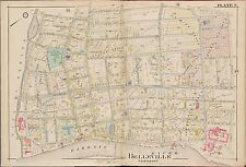 1906 BELLEVILLE, ESSEX COUNTY NEW JERSEY, ST. PETER'S CHURCH PS 1 & 3 ATLAS MAP