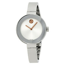 Movado Bold Stainless Steel Ladies Watch 3600194-AU