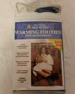 Bed Buddy Warming Footies with Aromatherapy Soothing Warmth for Your Feet - NEW