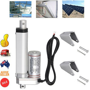 """20"""" 6000N Electric Linear Actuator Motor DC 24V For Auto Car Electric Door AU"""