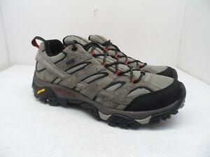 Merrell Men's Moab 2 Waterproof Trail Hiking Shoe Dark Brown Size 11.5M