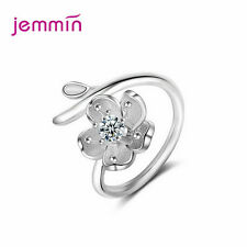 Retro Style Daisy Flower Finger Rings For Women Girls Ajustable Size Jewelry