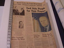 FORD BECOMES PRESIDENT AS NIXON RESIGNS, Aug 9, 1974