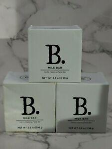 2x New Beekman 1802 Milk Bar Gentle Cleansing Facial Bar 3.5 oz New DISTRESS PAC