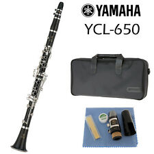 Yamaha YCL-650 Clarinet in Bb | 2018 Model | Made in Japan