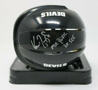 Ken Daneyko Autographed Black Mini Helmet NHL New Jersey Devils HTF